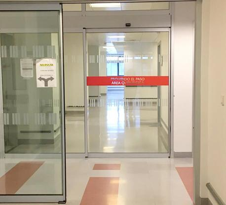 Hospital área quirúrxica