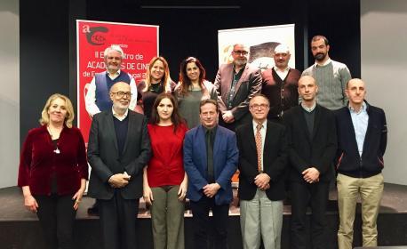 L'Academia del Cine Asturiano participa en Zaragoza nun alcuentru d'academies ibériques