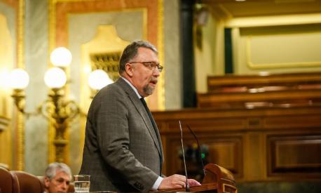 Isidro Martínez Oblanca vuelta al Congresu COVID-19
