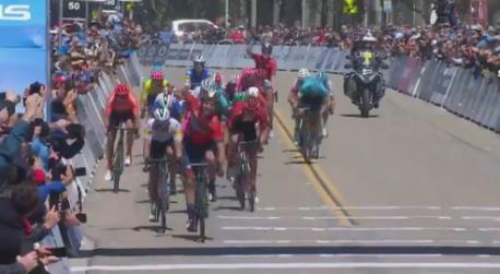 Iván García Cortina victoria Tour of California