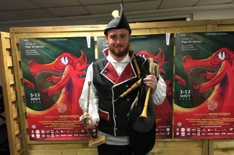Javier Menéndez González ganador del XXXIII Trophée Mac Crimmon recortada