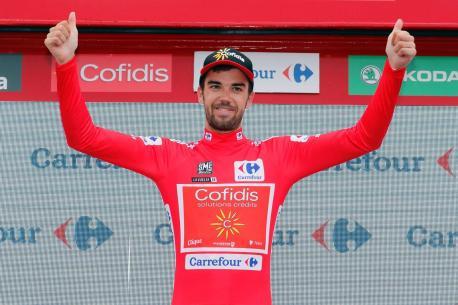La Vuelta aporta a les carreteres asturianes con Herrada como líder