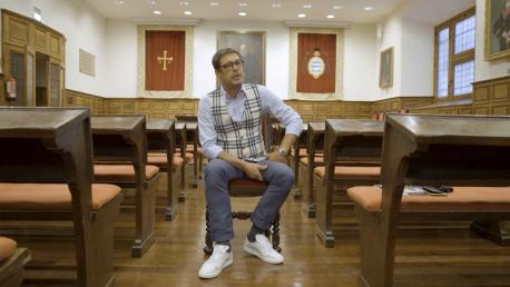 José Ángel Hevia en 'D'ayeri a güei'