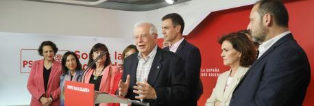 El PSOE tamién ye'l partíu más votáu nes eleiciones europees