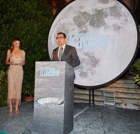 Julio González Zapico entrega Premios Condé Nast Traveler n'España 2019