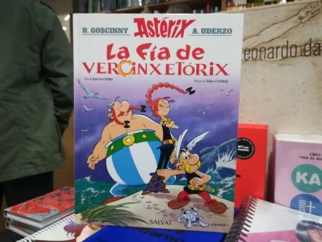 'La fía de Vercinxetórix' Astérix 38