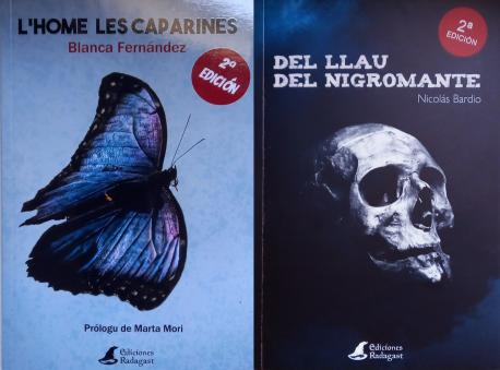 'L'home les caparines' y 'Del llau del nigromante' segunda edición