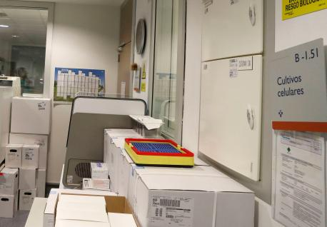 Llaboratoriu de Microbioloxía del HUCA