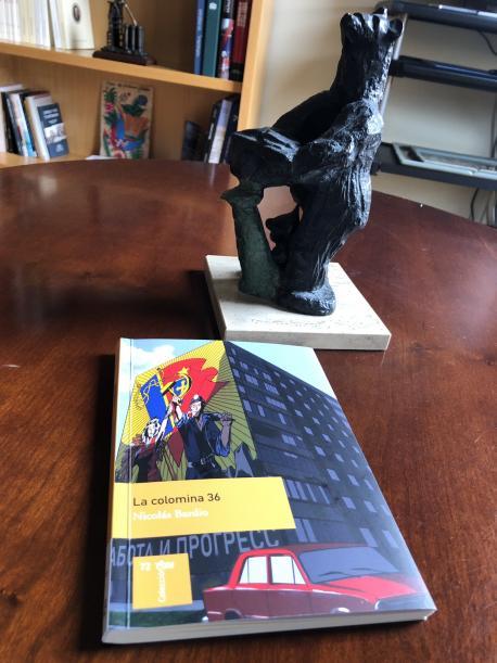 Llibru de 'La colomina 36' d'Adrián Barbón