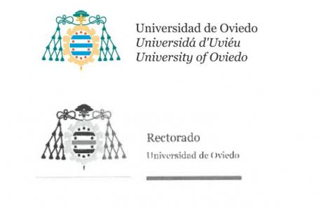 Logos Universidá d'Uviéu