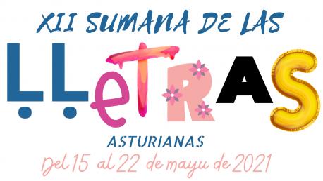 Logu de la XII Sumana de las Ḷḷetras Asturianas de Cangas