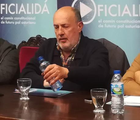 Luis Arias Argüelles-Meres seminariu oficialidá