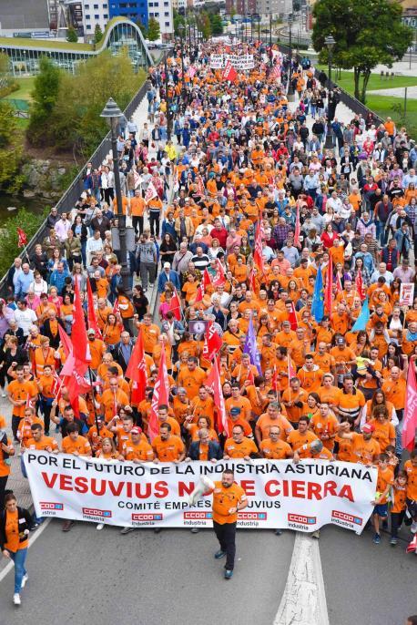 Manifestación Vesuvius