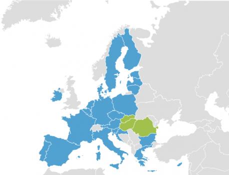 Mapa Europa iniciativa popular llingües minorizaes a 3 de payares