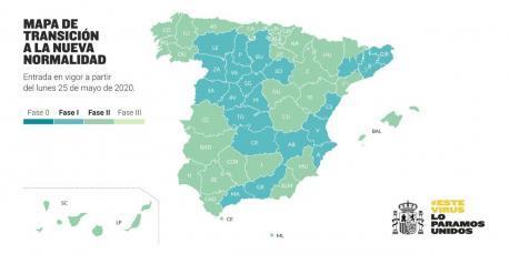 Mapa provincies fase 2 25 de mayu