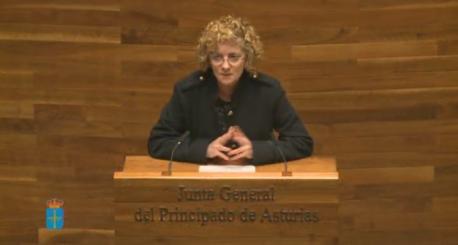 María Gloria García Fernández Selmana de les Lletres Asturianes 2018