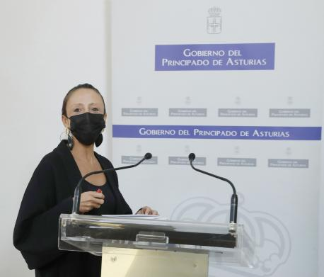 Melania Álvarez García Conseyu de Gobiernu en Les Regueres