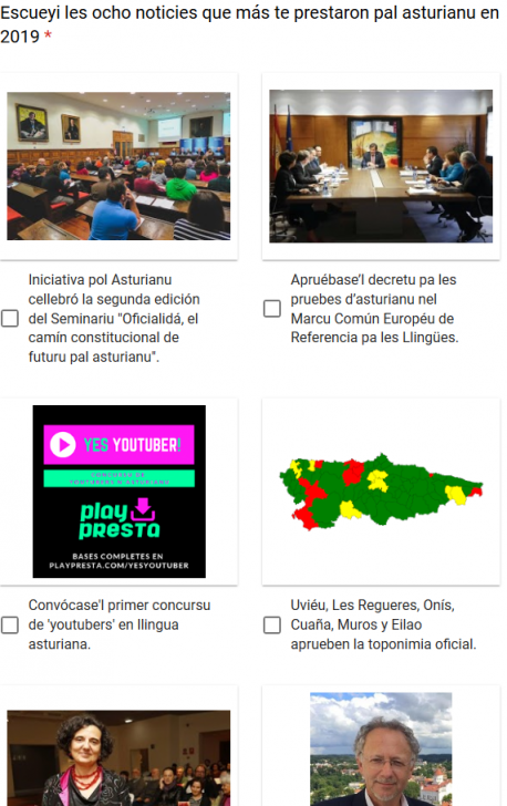 Meyor noticia pal asturianu 2019