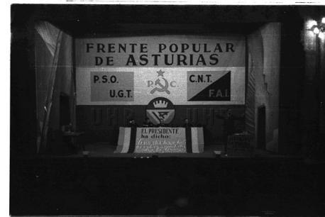 Mítin del Frente Popular en Xixón 16-2-1937 de Constantino Suárez