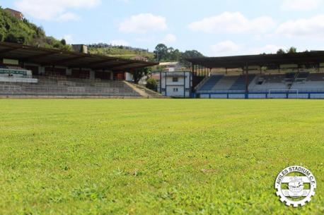 Muro de Zaro Avilés Stadium