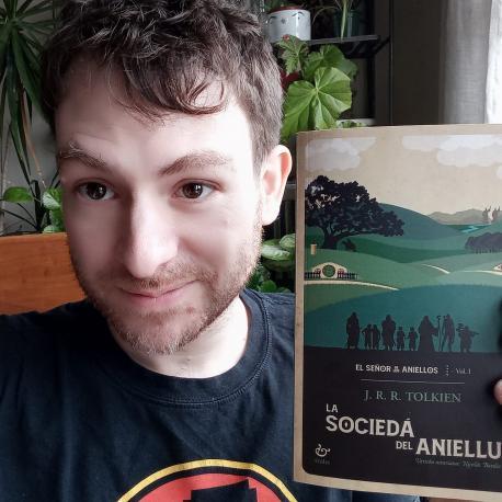 Nicolás Bardio y 'La Sociedá del Aniellu'