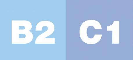 Niveles B2 y C1 Marcu Común Européu de Referencia pa les Llingües