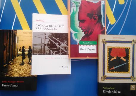 Obres ganadores del Premiu Xosefa Xovellanos de novela