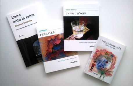 Obres ganadores del Premiu Xuan María Acebal de poesía