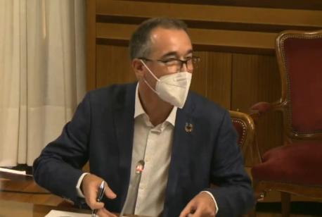 Pablo Ignacio Fernández Muñiz Comisión de Salú segunda prórroga pieslle ociu nocherniegu