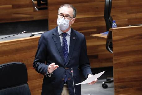 Pablo Ignacio Fernández Muñiz na Xunta Xeneral