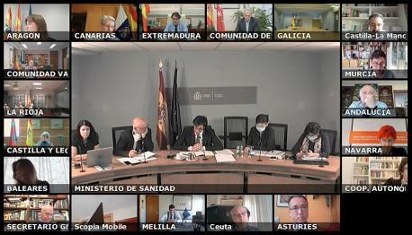 Pablo Ignacio Fernández Muñiz videoconferencia SNS Asturies