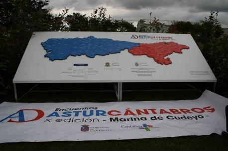Panel X Alcuentros Astur-Cántabros Marina de Cuyedo