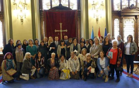 Participantes nel Día de les Escritores