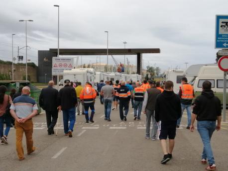 Paséu solidariu fuelguistes EBHI