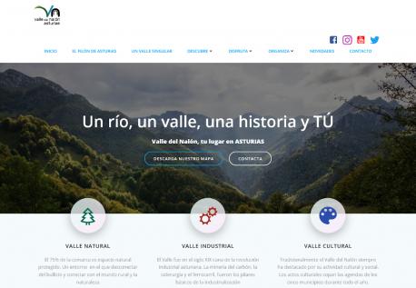 Páxina turismu Mancomunidá del Valle del Nalón
