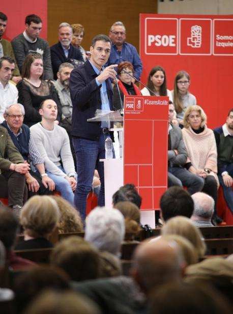 Sánchez medita adelantar les eleiciones col 14 d'abril y el 26 de mayu como alternatives