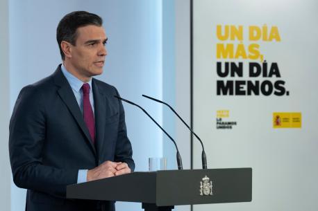 Pedro Sánchez fases desecalada