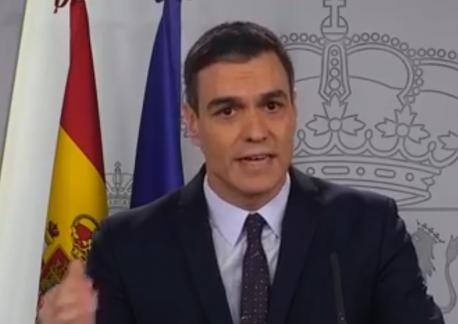 Pedro Sánchez midíes económiques y sociales