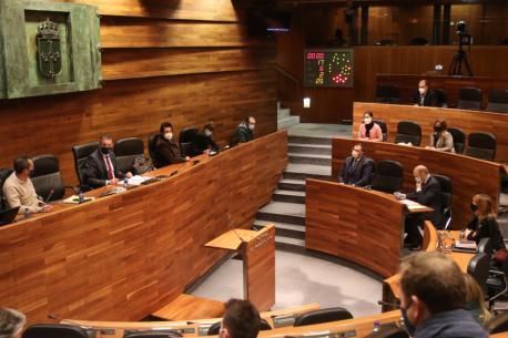 Plenu aprobación Presupuestos 2021