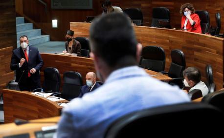 Plenu Xunta Xeneral intervención de Barbón