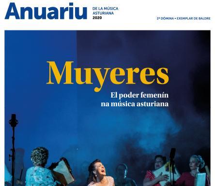 Portada del Anuariu de la Música Asturiana 2020
