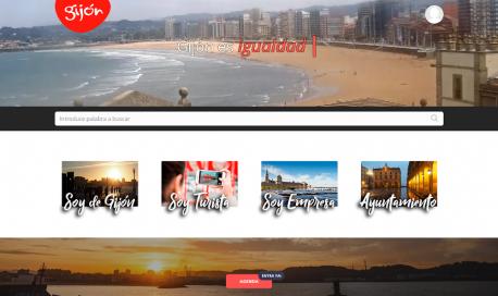 Portada web del Conceyu de Xixón
