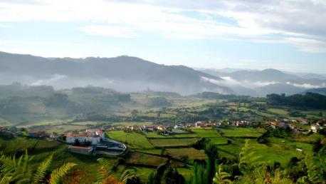 Pravia paisaxe