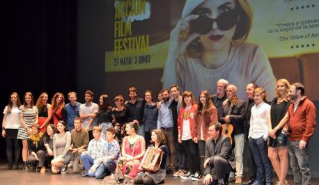 Premiaos del XVI Avilés Acción Film Festival
