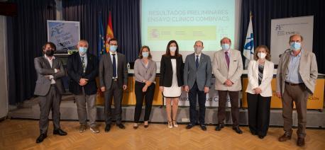 Presentación ensayu clínicu CombivacS del Institutu de Salú Carlos III