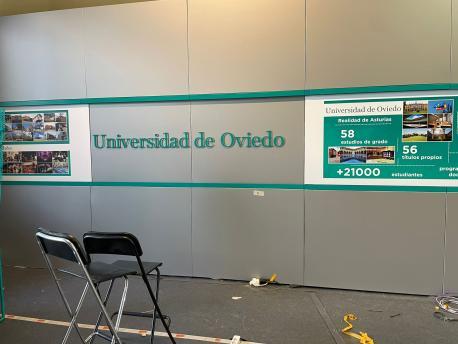 Puestu de la Universidá d'Uviéu FIDMA 2021