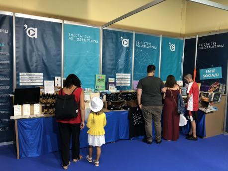 Puestu d'Iniciativa pol Asturianu na LXIV FIDMA