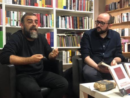 Ramón Lluís Bande presentación 'Cuaderno de una revolución' en La Buena Letra