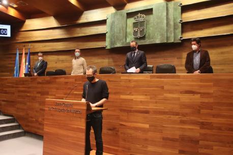 Ricardo Menéndez Salmón toma de posesión