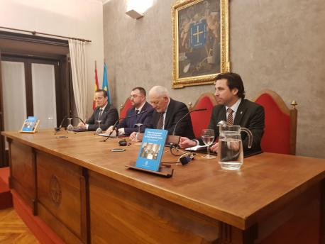 Roberto Fernández Llera presentación 'Relatos de la Preautonomía' nel RIDEA